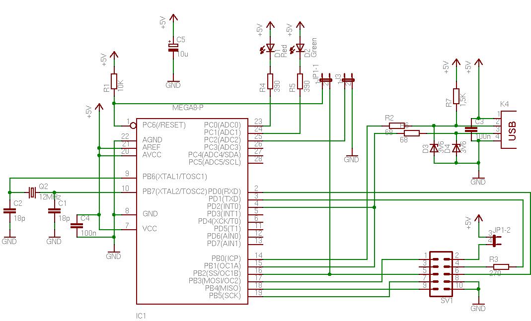 Схема Программатора Orange
